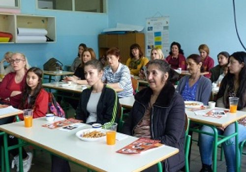 Workshop at the primary school in Lukavac