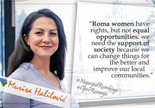 Roma women have rights, but not equal opportunities