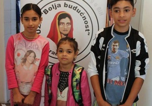 Support for education for 50 Roma pupils